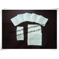 China Softness High Absorbency Medical Cotton Gauze Swabs for Surgical Wound Cleaning on sale