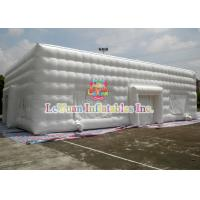 Buy cheap 20M LED Outdoor Giant Inflatable Cube for Event with Door and Window from wholesalers