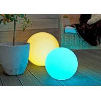 China Outdoor Solar Energy Garden LED Ball Lights With Automatic Colors Changing on sale