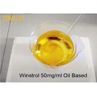 Buy cheap Stanozolol 50mg/ml Water / Oil Base Legal Anabolic Steroids Oral Winstrol 50mg / Ml from wholesalers