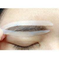 Buy cheap White Eyebrow Microblading Tool Permanent Makeup Tattoo Sticker from wholesalers