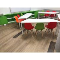 Buy cheap Plastic resilient vinyl plank flooring water proof/anti-scratch with wear layer protection from wholesalers