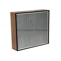 Buy cheap Replacement Electric Hepa Air Filters With Wooden Frame , Portable product