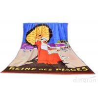 Double Sided Sublimated Swimming Towels For Children Eco Friendly