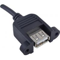 Buy cheap Custom Length USB Male To Female Cable Data Line Type Screw Lock For CCD Vision from wholesalers