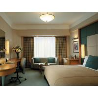 5 Star Hotel Bedroom Furniture Sets With Formica Laminate Fireproof Panel