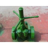 Buy cheap API 6A 2 3000psi High Pressure Oilfield / Mud Gate Valve/DEMCO Mud Gate Valve from wholesalers