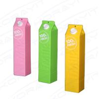Buy cheap Promotional Gift Plastic Milk Bottle Shape Portable Power Bank 2600mah for Mobile Phones from wholesalers