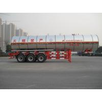 Buy cheap Gas Tanker Semi Trailer 39500L Capacity For Transport Propylene Oxide Liquiefied Property from wholesalers