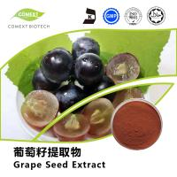 Buy cheap Hot Sale Grape Seed Extract 95% OPC Red Brown Powder UV Testing from wholesalers