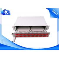Buy cheap PP - FC 48 Port Optical Fiber Patch Panel Fixed & Sliding Type For FTTH from wholesalers