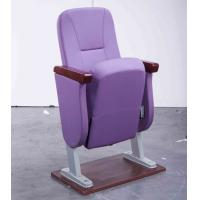 Buy cheap Cheap Purple Fabric Stackable Church Chairs With Padded Seat Base For Sale from wholesalers