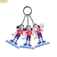 Buy cheap Personalized Cool PVC Key Chain  Small Size 3.5 Inches Height product