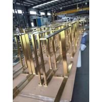 Buy cheap High quality 304 316 custom made stainless steel furniture lets and parts manufacturers in Foshan from wholesalers