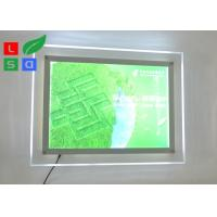 Environmental Protection LED Light Box Sign , Single Side 2835 SMD Ultra Thin Light Box