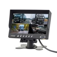 Buy cheap Quad Monitoring 7 Inch BUS Camera System With 4 Video Input 172*115*22mm from wholesalers