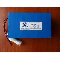 Buy cheap 36V 20Ah Lithium Iron phosphate battery pack (LFP7365132-12S4P, 38.4V 768Wh) from wholesalers