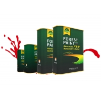 Buy cheap Forest Paint Metallic Red Auto Body Painting , Spray Gun Washing Thinner Auto Body Filler Putty from wholesalers