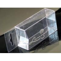 Buy cheap Hot Stamping Transparent PP/PET Packaging Box clear PVC plastic boxes wholesale in China from wholesalers