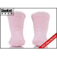 Buy cheap Pink Newborn Baby Socks / Lace Lovely Anti Slipper Indoor Infant Socks for Autumn from wholesalers