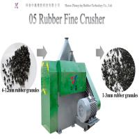 Buy cheap Eco-friendly automatic waste tire rubber cutting machine tire shredder tire crusher tire fine crusher from wholesalers