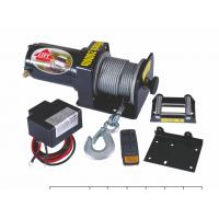 Buy cheap Roller fairlead Electric handy 2000 lb UTV Winch / Winches from wholesalers
