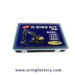 China Volvo o-ring kits rubber o ring kit for volvo excavators NBR FKM o-ring box on sale