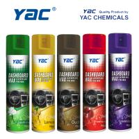 Quality Car Care Car Dashboard Wax Aerosol Spray with High Shine for Leather Cleaning for sale