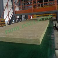 Buy cheap Rock Wool board high rigidness for heat insulation from wholesalers