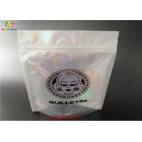 Buy cheap high quality holographic stand up zip lock bag/laminated poly large plastic packaging zipper bags/hologram foil sticker from wholesalers