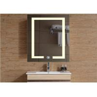 Buy cheap Hotel / Bathroom Waterproof Mirror TV Rectangle Shape With Multi Language from wholesalers