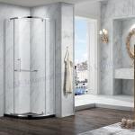 Buy cheap Elegant Round Shape Pivot Hinge Quadrant Frameless Shower Enclosure from wholesalers