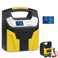 Buy cheap 12V 24V Intelligent Car Battery Charger Jump Starter 20A 10s from wholesalers