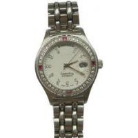 Buy cheap Stainless Steel Mens Quartz Watches Analog Time Display Wrist Watch from wholesalers