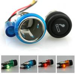 Buy cheap 120W 12V Car Cigarette Lighter Socket Portable Motorcycle Marine Boat RV Cigarette Lighter Adapter Outlet Plug from wholesalers