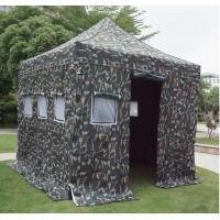 Buy cheap Hot sales steel disaster relief tent 3x3m with windproof side walls from wholesalers