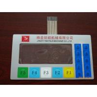 Buy cheap OEM Tactile Touch Screen Waterproof Membrane Switch keypad With Clear Window from wholesalers