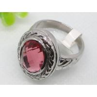 Buy cheap Pink Glass Semi Precious Stone Wedding Ring 1140415  from wholesalers