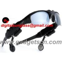 Buy cheap Bluetooth MP3 Sunglass MP3 Sunglasses from wholesalers