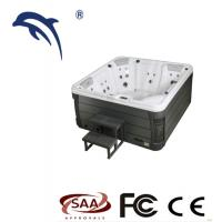 Buy cheap Optional Color Outdoor Garden Spa Tub With Video Whirlpool LED from wholesalers