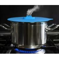 Buy cheap New ! Eco-friendly Steam Ship Silicone Steamer Lid Super Cute Design Bowl Cover Keep Food Fresh from wholesalers
