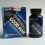 Buy cheap Good Man 60 Caps Male Sex Enlargement Penis Bigger Longer  Prolong Sex Time Delay Sex Pills Men Sex Enhancer from wholesalers