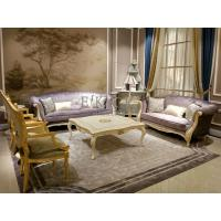 Buy cheap Sofa home wooden frame silver color living room furniture living room sets FF113 from wholesalers