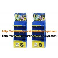 Buy cheap Blue Supermarket Cardboard Floor Displays For Shampoo Promotion With 4 layers from wholesalers
