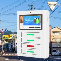 Buy cheap Android Network Mobile Smartphone Charging Station With display digital signage from wholesalers