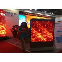 Buy cheap High Brightness RGB SMD LED Screen P10 With Iron / Steel , Super Thin Cabinet from wholesalers