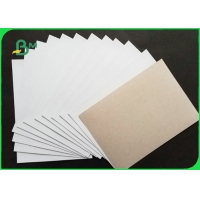 Buy cheap 230gsm 250gsm Grey Back Duplex Board For Shirt Liner Smooth Surface 610 * 860mm from wholesalers