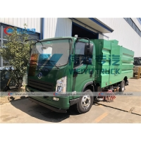 Buy cheap Shacman 6cbm Street Cleaning Water Sprinkler Dust Suction Road Sweeper Truck from wholesalers