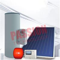 Buy cheap Split Pressurized Solar Water Heater , Flat Plate Water Heater Blue Titanium Coating  from wholesalers