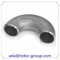 Buy cheap ASME A403 WPS TP304/304L Butt Weld Fittings Stainless Steel 180 Degree Elbow product